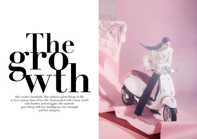 Ấn tượng bộ ảnh của Lâm Thúy Nhàn trong Vespa Top Stylist Contest - Ảnh 2.