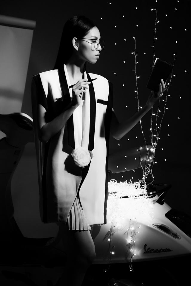 Ấn tượng bộ ảnh của Lâm Thúy Nhàn trong Vespa Top Stylist Contest - Ảnh 3.