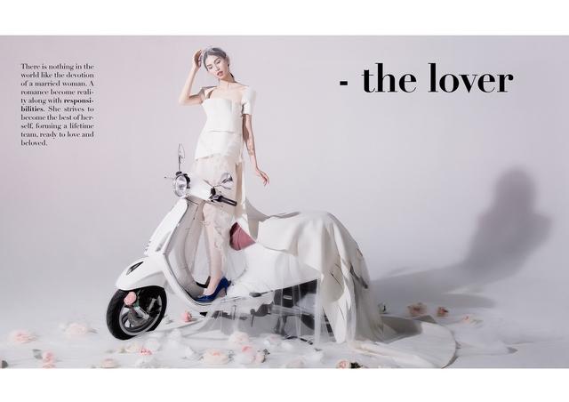 Ấn tượng bộ ảnh của Lâm Thúy Nhàn trong Vespa Top Stylist Contest - Ảnh 5.