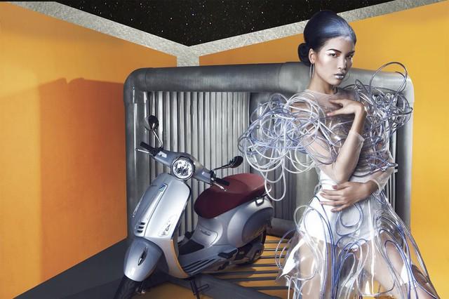 Cùng chiêm ngưỡng bộ hình siêu chất của Lê Minh Ngọc trong Vespa Top Stylist Contest - Ảnh 6.
