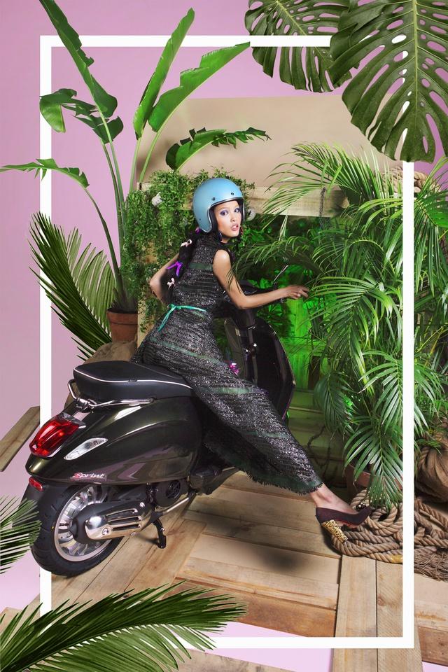 Cùng chiêm ngưỡng bộ hình siêu chất của Lê Minh Ngọc trong Vespa Top Stylist Contest - Ảnh 16.