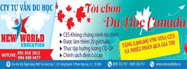 Bùng nổ du học Canada Visa CES 2016 chương trình Cao đẳng - Ảnh 9.