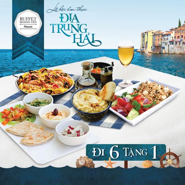 """""""Sốt xình xịch"""" với lễ hội ẩm thực Địa Trung Hải đang được giới sành ăn Sài Gòn săn đón - Ảnh 6."""