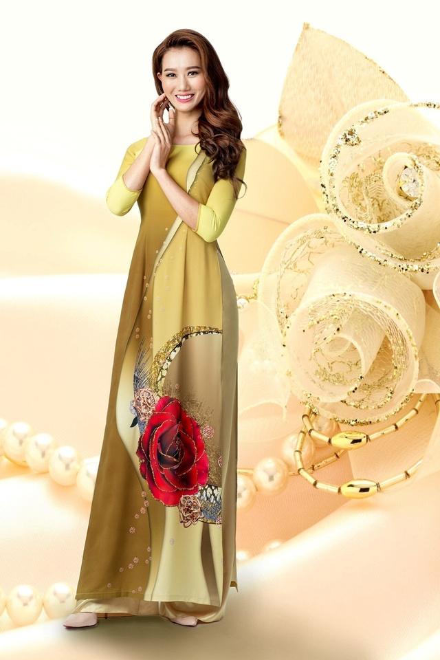 Cảm hứng đá quý trong bộ sưu tập áo dài Ngọc Khuê Các - Ảnh 3.