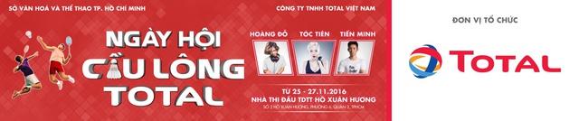 """Nguyễn Tiến Minh: """"Kẻ thách thức"""" đầy tiềm năng tại Ngày hội cầu lông 2016 - Ảnh 2."""