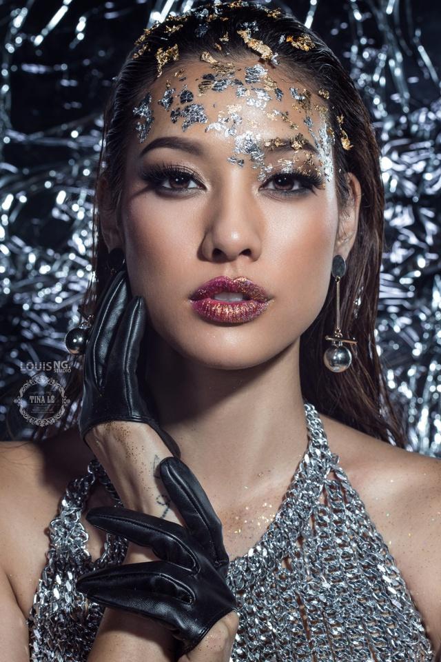 Lilly Nguyễn hoá nàng tiên cá bằng nghệ thuật body painting với Tina Lê - Ảnh 5.