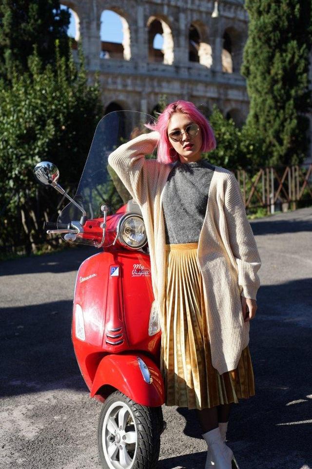 Ngẫu hứng du hành cùng nàng fashionista 9x từ Hà Nội tới kinh đô thời trang Ý - Ảnh 3.