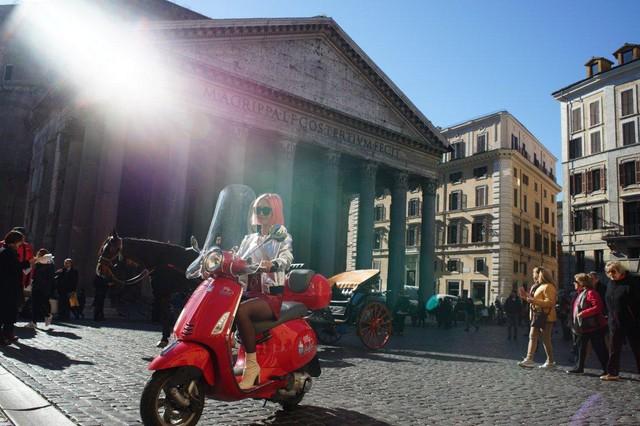 Ngẫu hứng du hành cùng nàng fashionista 9x từ Hà Nội tới kinh đô thời trang Ý - Ảnh 4.