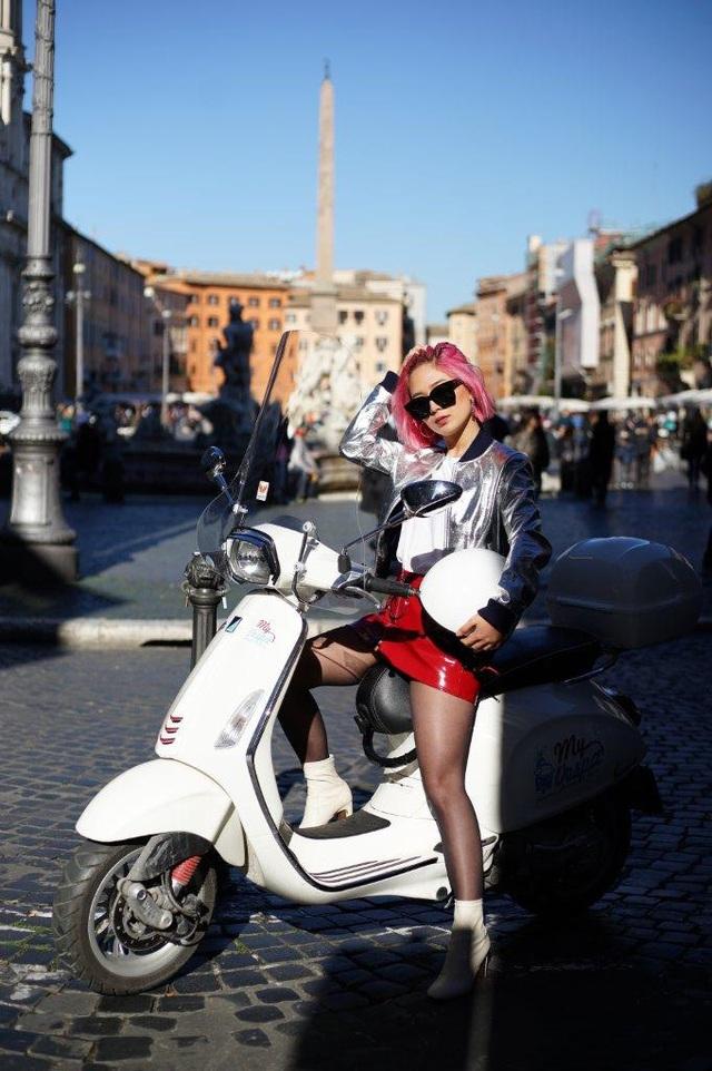 Ngẫu hứng du hành cùng nàng fashionista 9x từ Hà Nội tới kinh đô thời trang Ý - Ảnh 6.