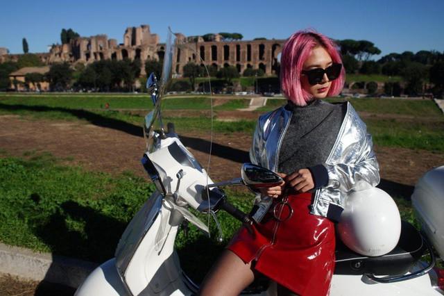 Ngẫu hứng du hành cùng nàng fashionista 9x từ Hà Nội tới kinh đô thời trang Ý - Ảnh 7.