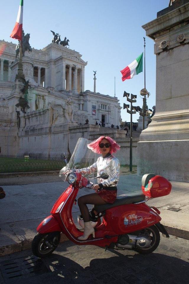 Ngẫu hứng du hành cùng nàng fashionista 9x từ Hà Nội tới kinh đô thời trang Ý - Ảnh 12.