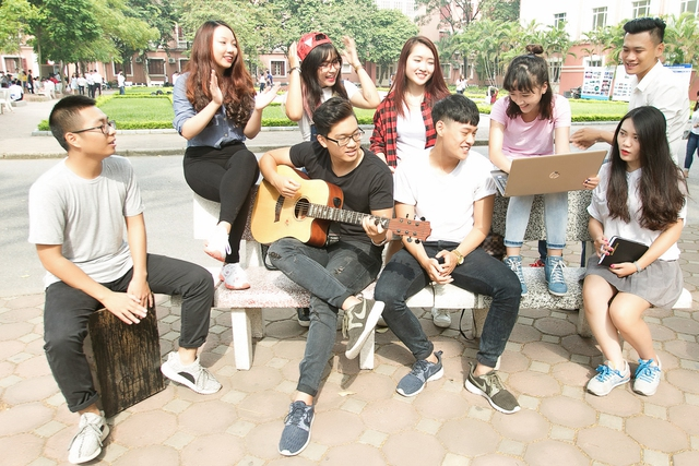 Giới trẻ cháy hết mình với sân chơi âm nhạc mới dành cho sinh viên - Ảnh 3.