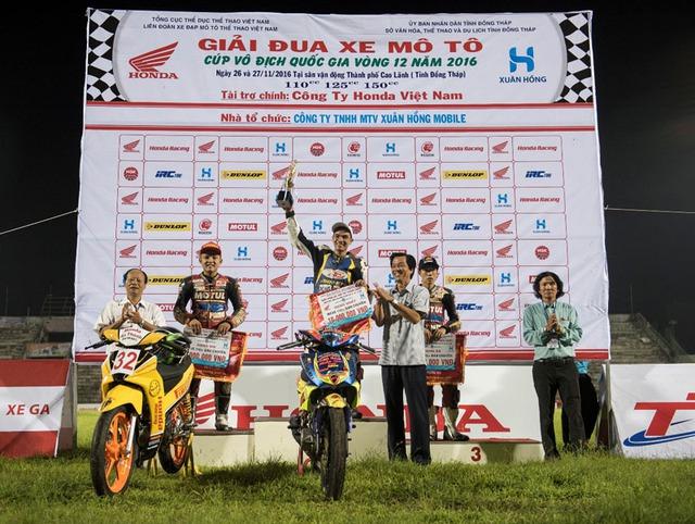 Honda Việt Nam lần đầu tiên mang giải đua xe đến với khán giả Đồng Tháp - Ảnh 8.