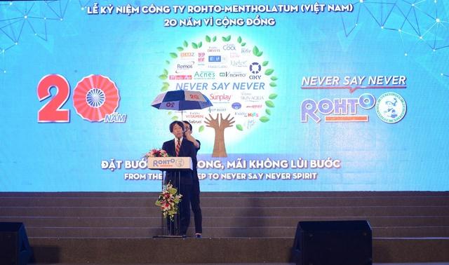 """Hàng loạt sao Việt hội ngộ trong """"Lễ kỷ niệm 20 thành lập Rohto-Mentholatum (VN) - Ảnh 2."""
