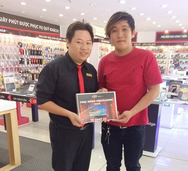 Bất ngờ trúng tivi, lò vi sóng khi mua OPPO F1s tại FPT Shop - Ảnh 4.