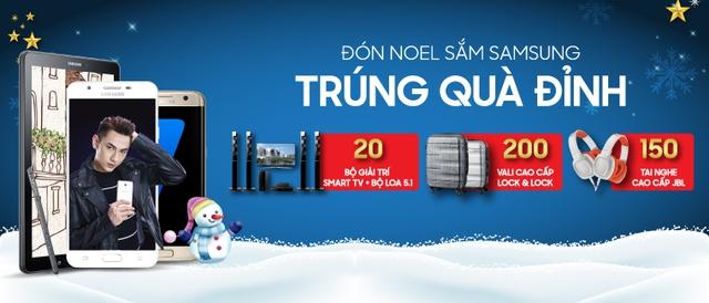 Sắm Samsung, trúng quà cực khủng đón Noel - Ảnh 2.