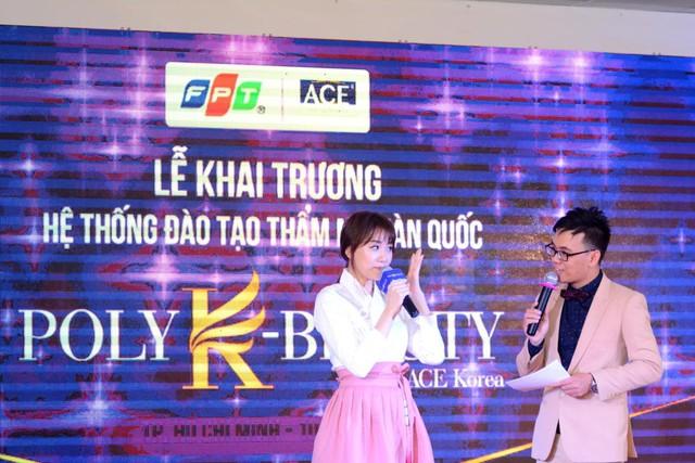 Hari Won rạng ngờidựkhai trương Hệ thống đào tạo thẩm mỹ Hàn Quốc Poly K-Beauty - Ảnh 2.