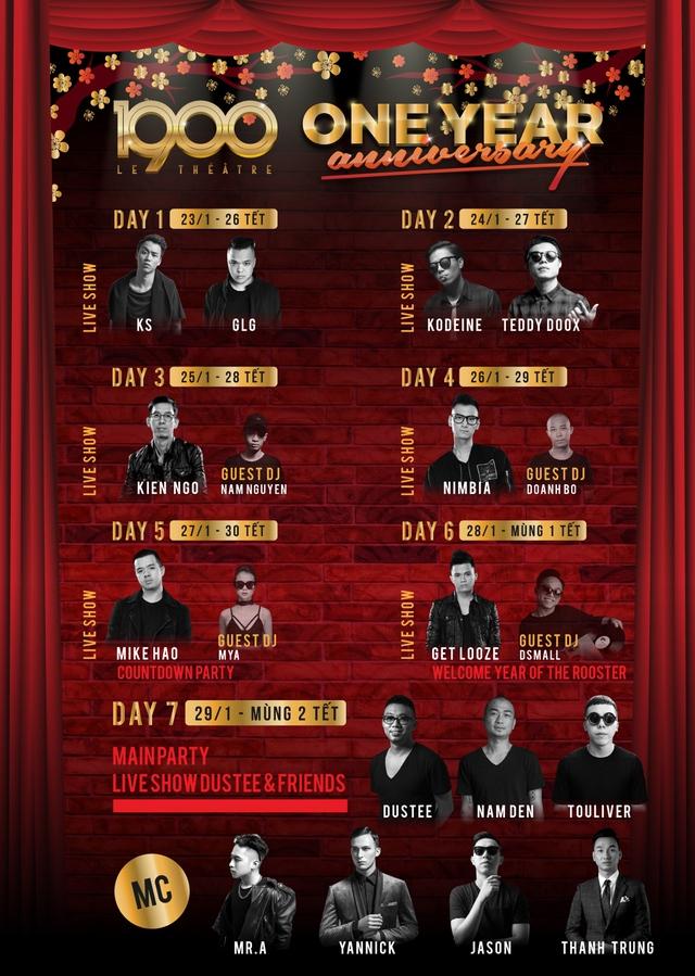 Dàn DJ và nghệ sĩ khủng tham dự chuỗi sự kiện EDM hoành tráng trong 7 ngày Tết - Ảnh 2.