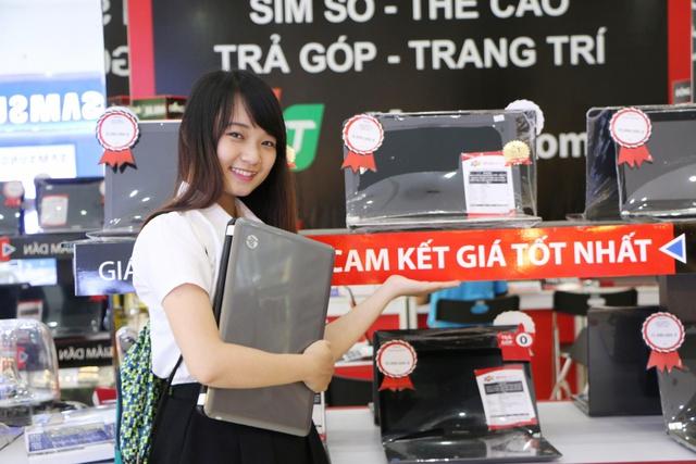 Mua laptop giá chỉ từ 4,9 triệu đồng, thêm cơ hội trúng vàng 9999 tại FPT Shop - Ảnh 2.