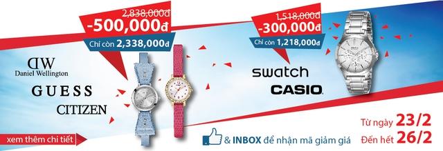Khuyến mãi hiếm hoi cho những tín đồ đồng hồ chính hãng tại Cititime Mall - Ảnh 1.