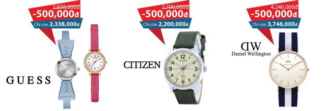 Khuyến mãi hiếm hoi cho những tín đồ đồng hồ chính hãng tại Cititime Mall - Ảnh 3.