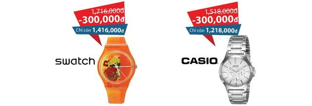 Khuyến mãi hiếm hoi cho những tín đồ đồng hồ chính hãng tại Cititime Mall - Ảnh 4.