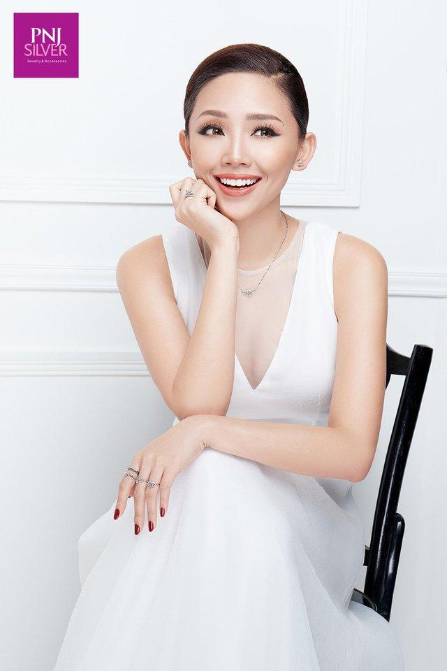 Ngắm Tóc Tiên hoá công chúa cùng BST mới của PNJSilver - Ảnh 6.