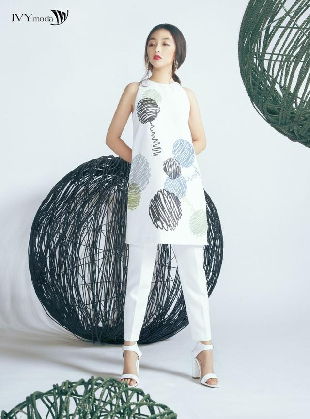 """Sắm ngay họa tiết trang phục """"hot"""" chào hè 2017 cùng Linh Khiếu - Ảnh 7."""