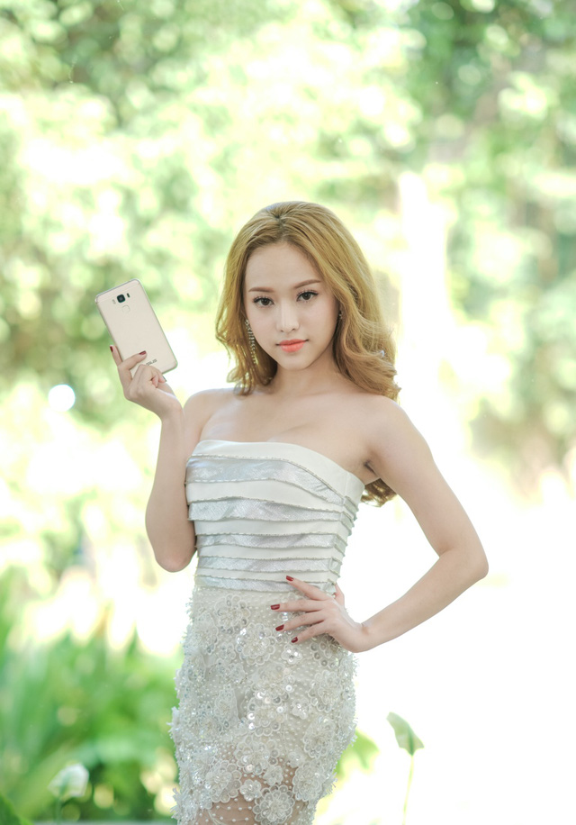 Sau The Face, Thuý Vi lộ nhan sắc mộc năng động cùng ZenFone 3 Max 5.5 - Ảnh 6.
