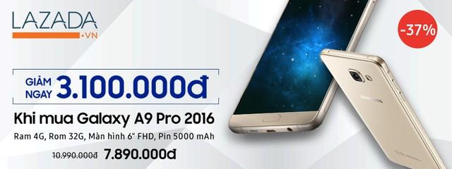Galaxy A9 Pro và những tính năng sang chảnh không phải ai cũng biết - Ảnh 1.
