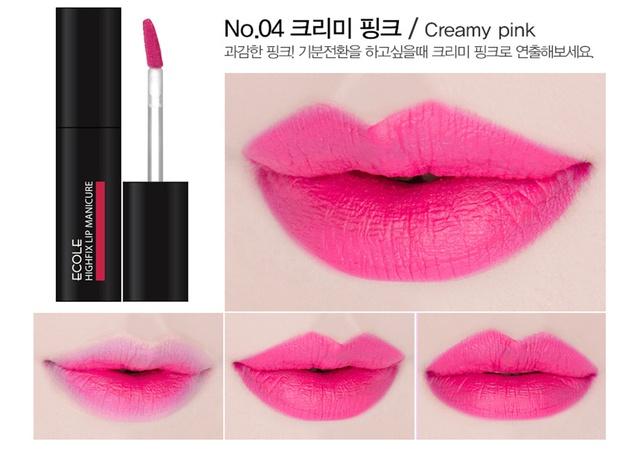 Son kem lì Ecole High Fix Lip Manicure 2016 - Màu son xinh tươi dễ dàng chọn lựa - Ảnh 7.
