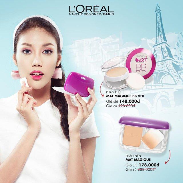 Hơn 100 sản phẩm trang điểm L'Oréal Paris có giá mới thấp hơn đến 30% - Ảnh 3.