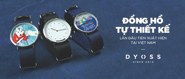 Thoả sức sáng tạo với đồng hồ tự thiết kế đầu tiên tại Việt Nam - Ảnh 1.