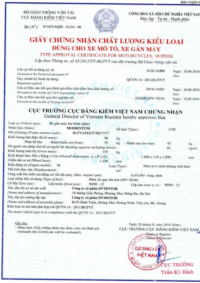 Dòng sản phẩm xe điện 2016 M133S của GIANT Việt Nam đã trở lại trên thị trường - Ảnh 6.