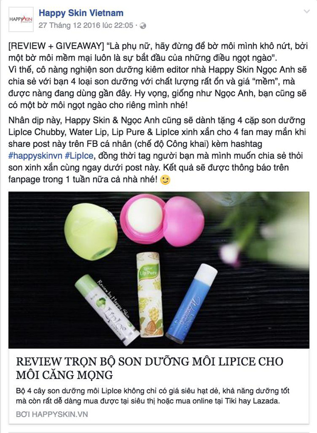 """Son dưỡng môi """"hớp hồn"""" các hot girl và beauty blogger Việt - Ảnh 3."""