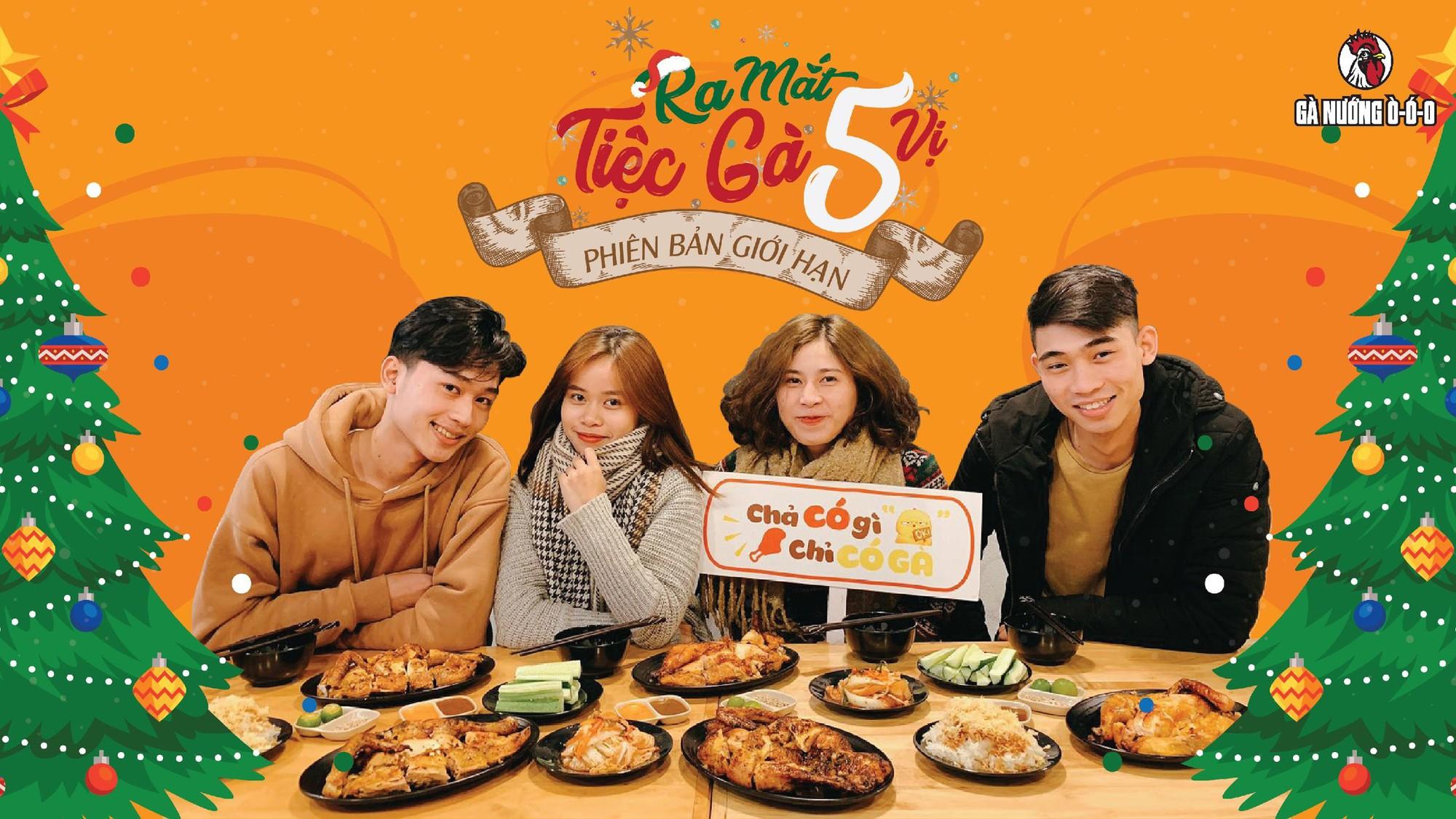 Theo chân người Sài Gòn oanh tạc tiệc gà nướng 5 vị độc lạ ngay giữa Hà Nội mùa đông - Ảnh 1.