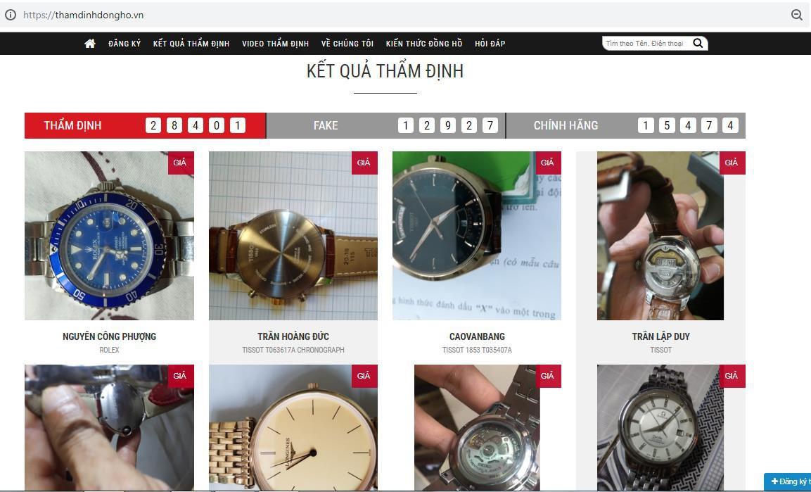 """Thẩm định đồng hồ ở Hà Nội: """"Lật mặt"""" đồng hồ giả siêu tinh vi, giống thật 99% - Ảnh 1."""