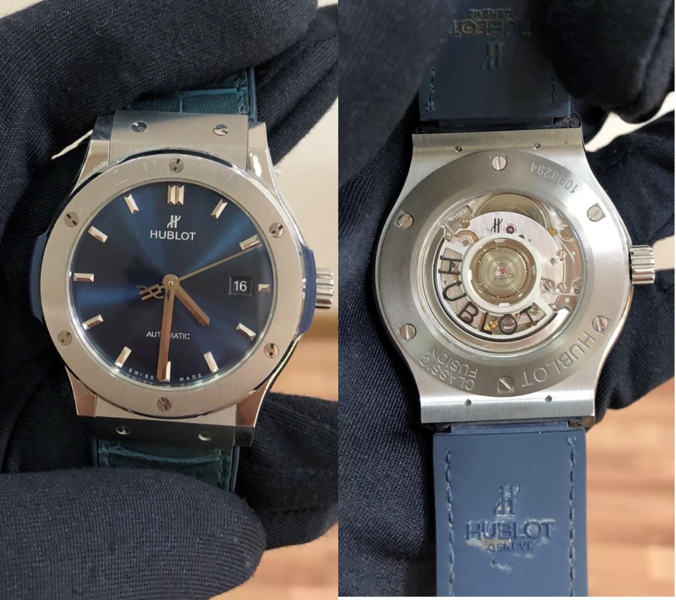 """Thẩm định đồng hồ ở Hà Nội: """"Lật mặt"""" đồng hồ giả siêu tinh vi, giống thật 99% - Ảnh 3."""