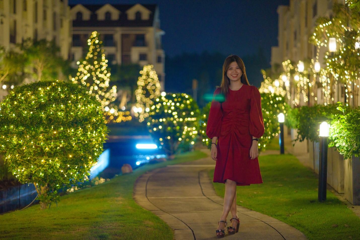 Một không khí Giáng sinh vô cùng sang chảnh dành cho cư dân tại công viên kiểu Nhật MIDORI PARK - Ảnh 4.