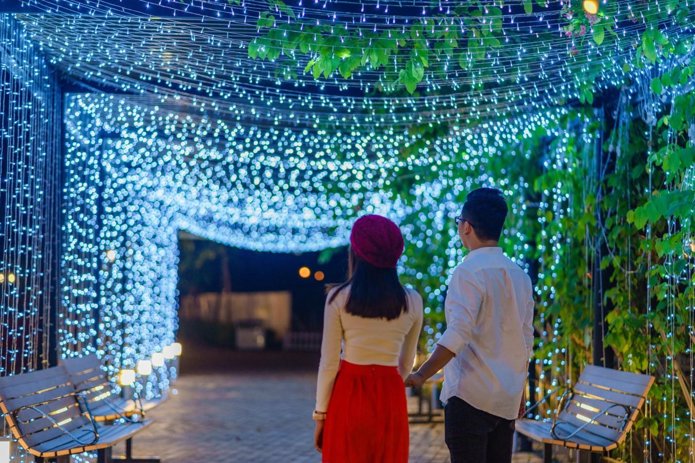 Một không khí Giáng sinh vô cùng sang chảnh dành cho cư dân tại công viên kiểu Nhật MIDORI PARK - Ảnh 5.