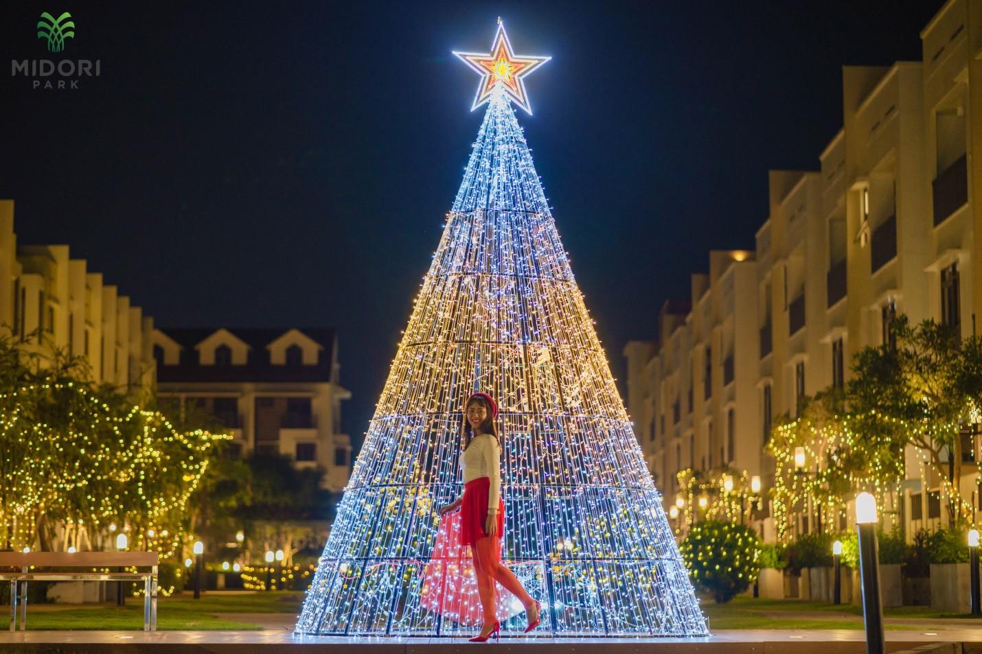 Một không khí Giáng sinh vô cùng sang chảnh dành cho cư dân tại công viên kiểu Nhật MIDORI PARK - Ảnh 8.