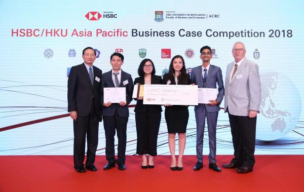 4 sinh viên RMIT Việt Nam giành giải nhì cuộc thi kinh doanh châu Á - Thái Bình Dương - Ảnh 1.