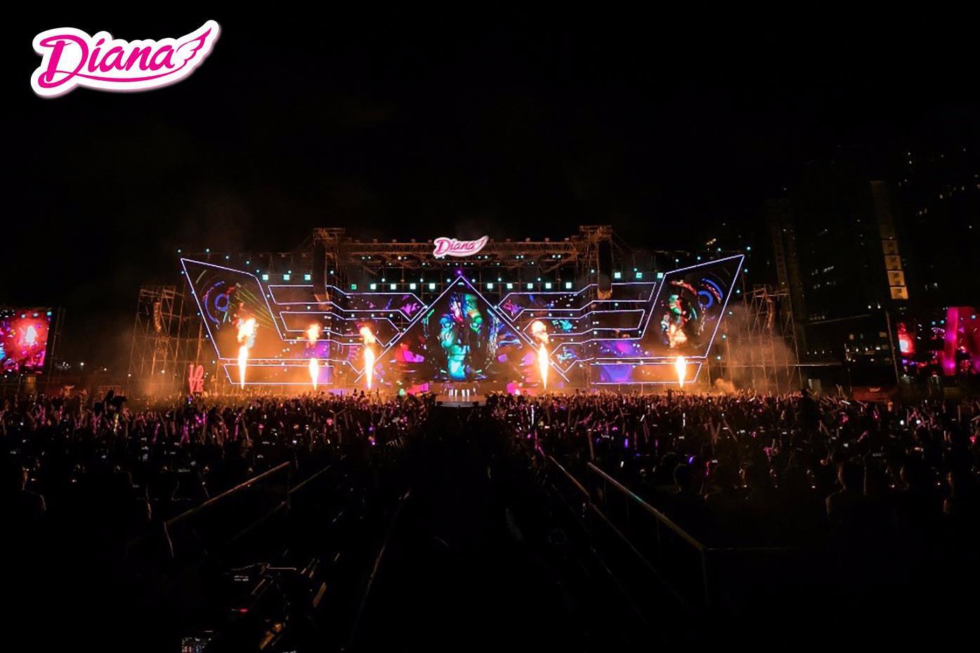 5 cái nhất khiến fans Việt choáng toàn tập với đại nhạc hội của Diana - Ảnh 2.