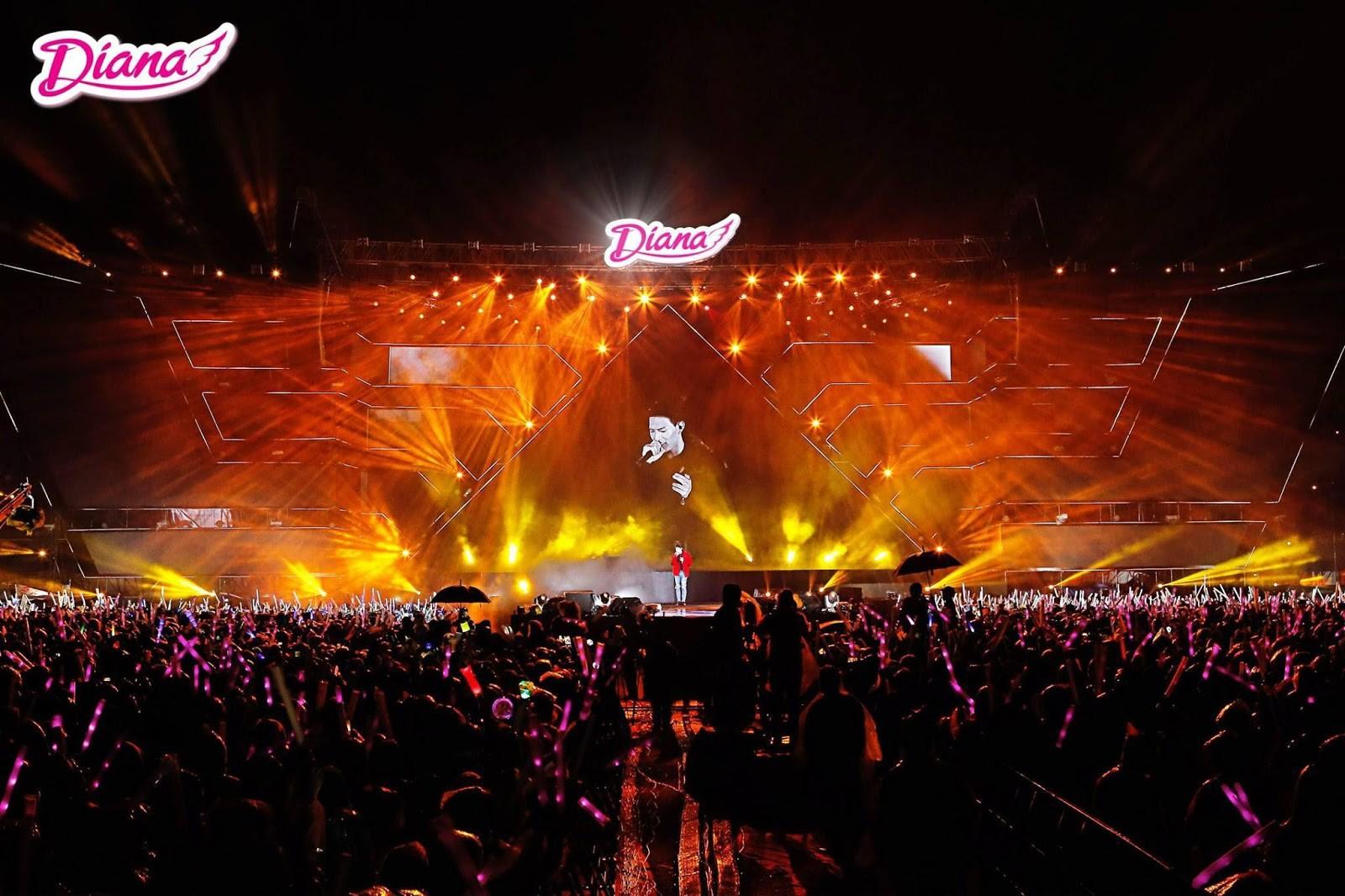 5 cái nhất khiến fans Việt choáng toàn tập với đại nhạc hội của Diana - Ảnh 5.