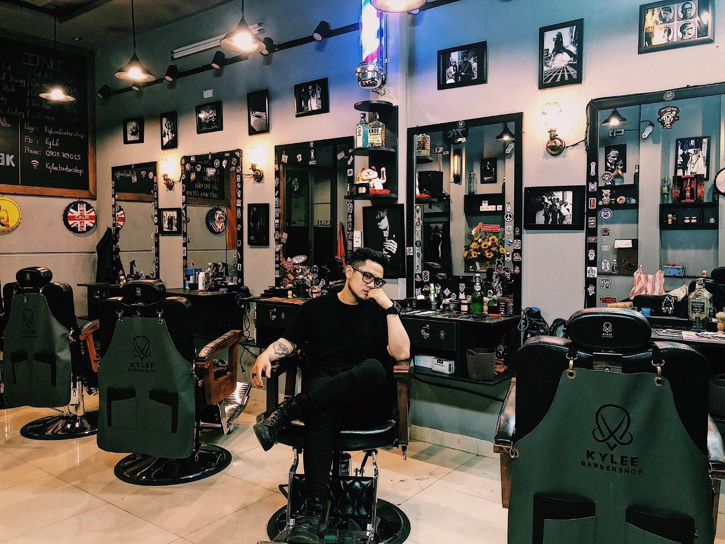 """Ky Lee Barber shop – Tiệm cắt tóc """"cực chất"""" dành cho các quý ông - Ảnh 3."""