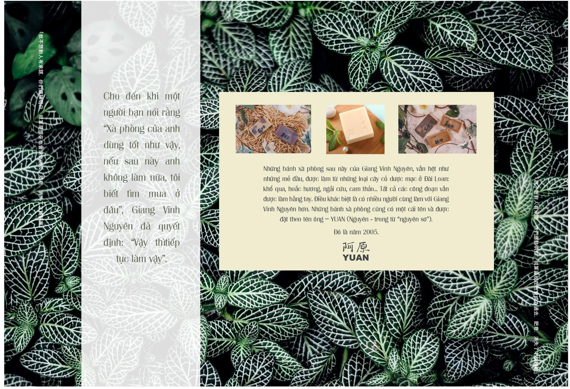 Mỗi 30 giây bán được một bánh xà phòng và câu chuyện về lòng tận tâm với thiên nhiên của Yuan - Thương hiệu chăm sóc da thảo mộc xứ Đài - Ảnh 4.