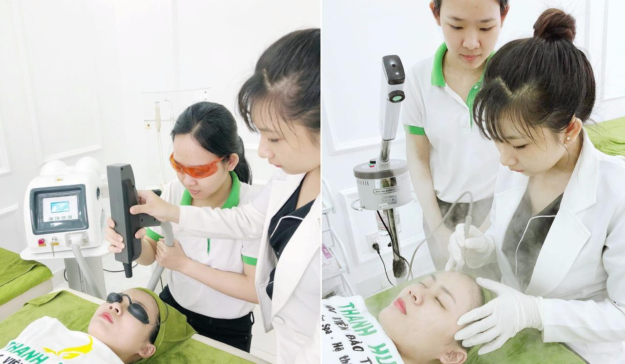 Thực hành kỹ thuật ngành spa – thẩm mỹ trên người thật: Những trải nghiệm quý giá cho học viên mới vào nghề - Ảnh 4.