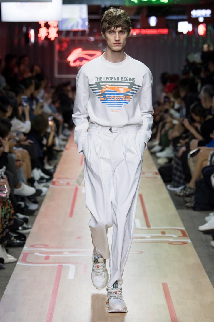 BST Li-Ning Xuân Hè 2019 tại Tuần lễ thời trang Paris - Tương lai của di sản - Ảnh 3.