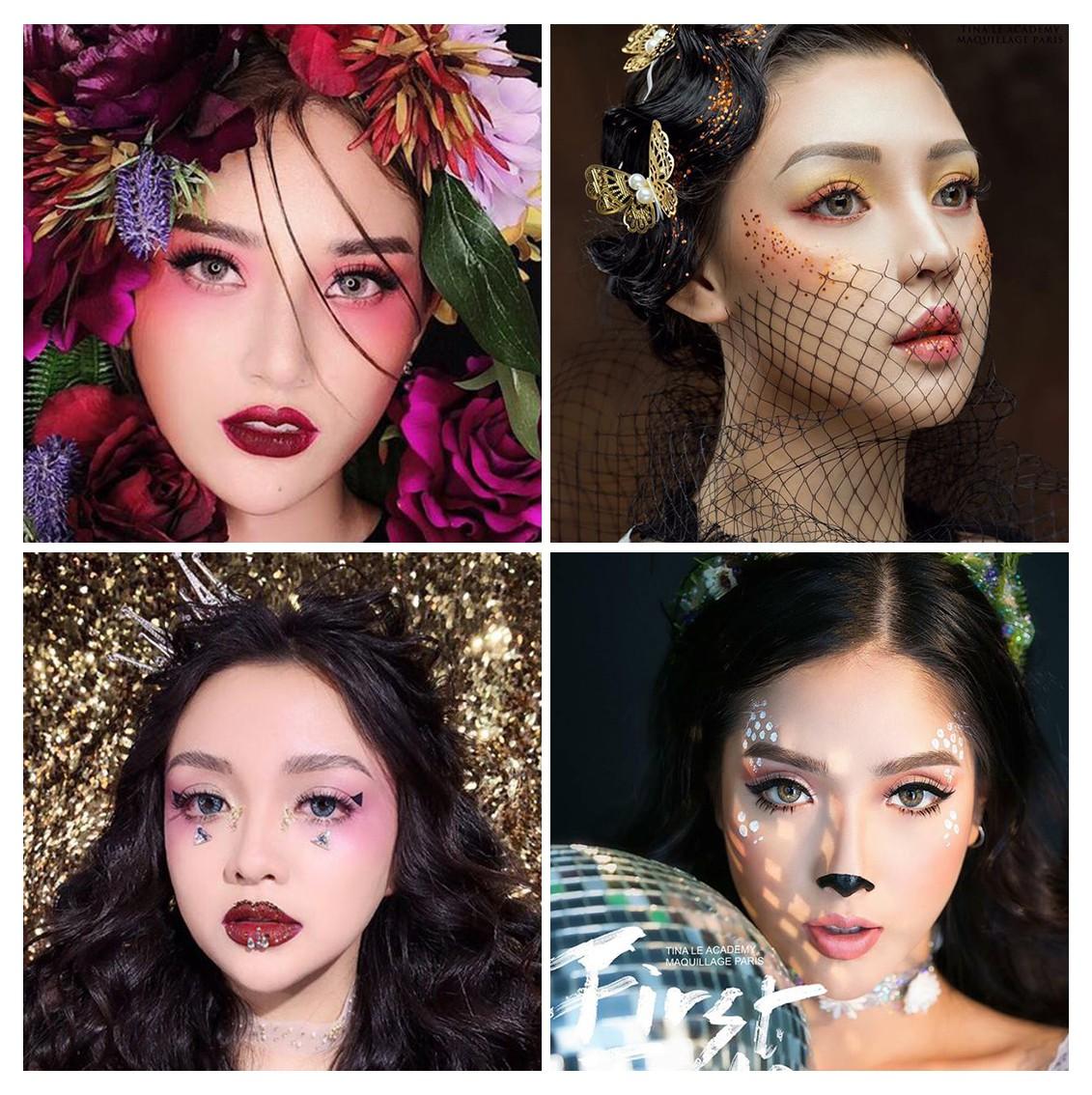 Tina Lê make up: nhân vật truyền cảm hứng cho các thế hệ học trò về làm đẹp - 1 năm nhìn lại - Ảnh 9.