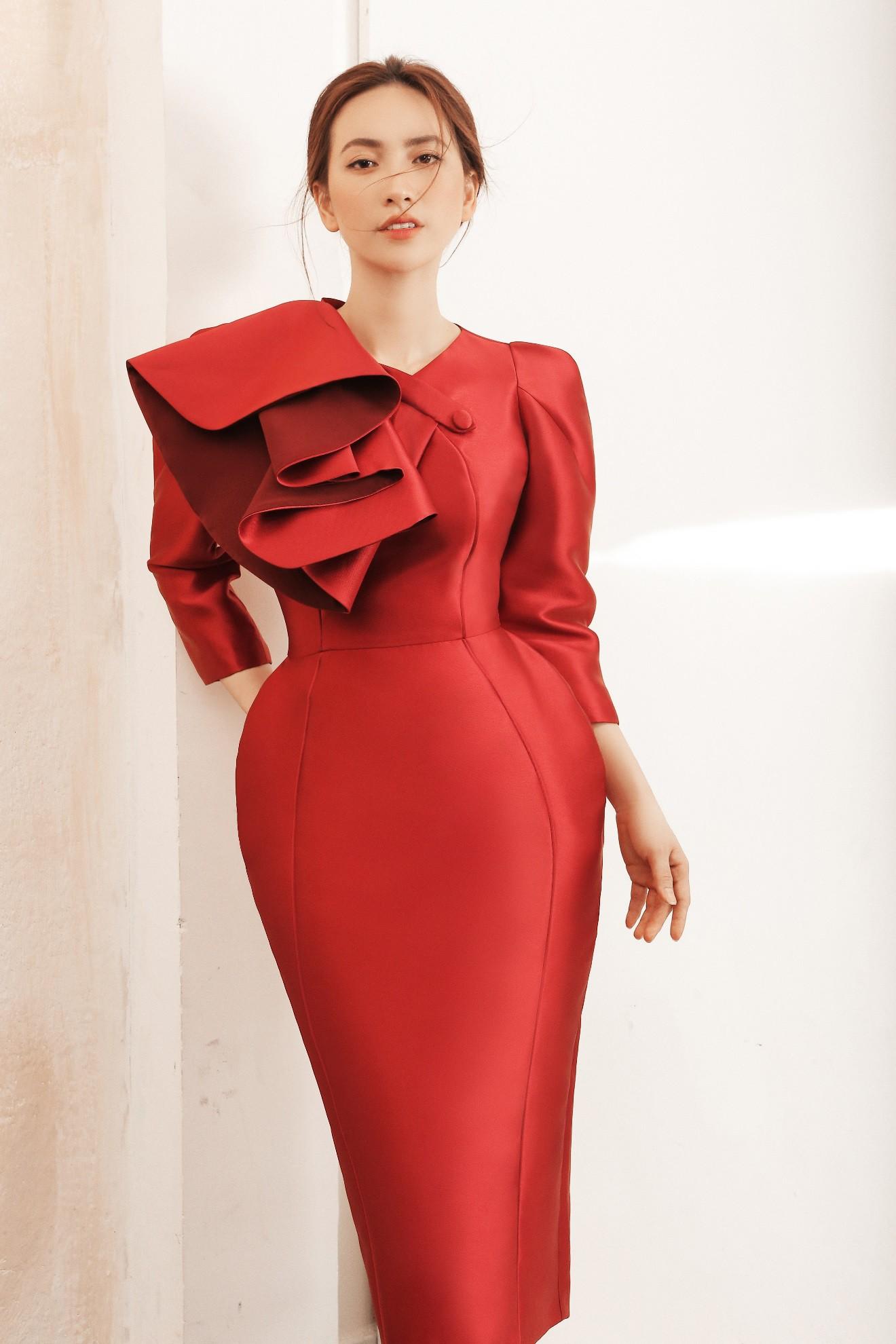 """Sau """"Chàng vợ của em"""", Phương Anh Đào đầy xinh đẹp, cuốn hút trong BST từng xuất hiện trên Vogue của PHUONG MY - Ảnh 7."""